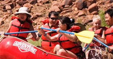 Colorado River Mid-Day Rafting Adventure with Exclusive BBQ Lunch